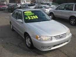 toyota corolla 2001 s 2001 toyota corolla s 4dr sedan in enfield ct enfield