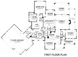 house plans with butlers pantry falls craftsman floor plan luxury house plans