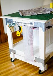 gorgeous folding sewing cutting table with new customized sewing