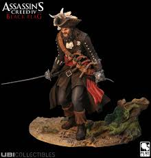 Blackbeards Flag Assassin U0027s Creed 4 Black Flag Sammlerfigur Blackbeard Samt Dlc
