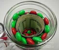 inking idaho mason jar money from santa