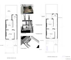 19th Century Floor Plans Restoration U0026 Extension Of A Mid 19th Century Terrace House