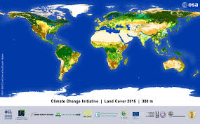 What Is A Climate Map Esa Cci Viewer