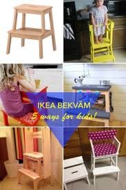 Ikea Kids Table Adjustable 5 Fun Ways To Use The Bekvam Step Stool For Kids Ikea Hackers