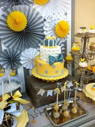 yellow baby shower ideas baby shower ideas for boys on a budget babyish