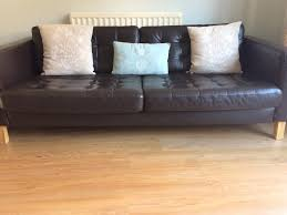 Ikea Laminate Flooring Ikea 3 Seater Leather Sofa Collection Only In York North