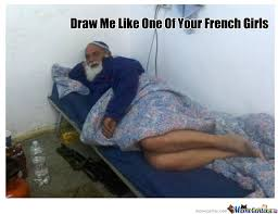 What Does Meme Mean In French - draw me like one of your french girls by danielwaz meme center