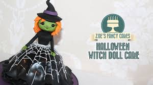 witch doll cake youtube