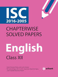 amazon in buy isc chapterwise solved papers english class 12th