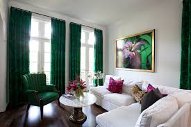 Plain Lime Green Curtains Green Curtains Houzz