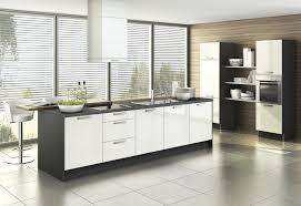 küchen küchenfronten in schwarz weiß