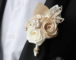 gold boutonniere gold boutonniere etsy