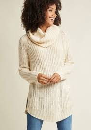 sweater in homecoming the mountain sweater in creme modcloth