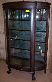 curved glass china cabinet china cabinet curved glass t48 on attractive home design furniture