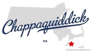 Chappaquiddick Ma Map Of Chappaquiddick Ma Massachusetts