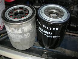 1988 isuzu trooper diesel conversion oil filter