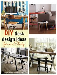 Diy Desk Ideas Diy Desk Ideas For Our Study Makeover Four Generations One Roof