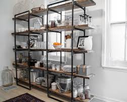 Open Shelving Unit by Kitchen Kitchen Shelving Units Throughout Impressive Open