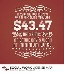 giving back for thanksgiving social work license map