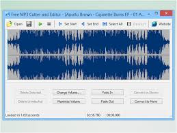 free download of mp3 cutter for pc free mp3 cutter and editor download chip