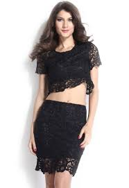 hot dress buy lovemate midnight black two hot party dress frbd 196