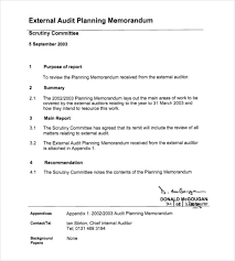 internal memo examples internal audit planning memorandum best template u0026 design images