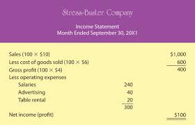 Net Income Statement Template by Exploring Business 2 0 Flatworld