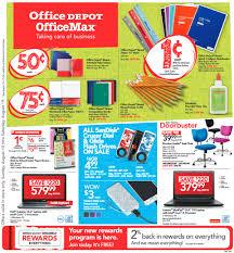 Office Depot Office Depot Office Back To 1 Deals Starting 8 13