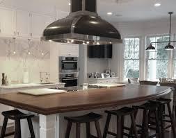 walnut wide plank modern wood countertop brooks custom
