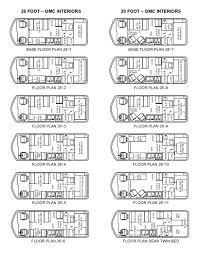 floorplans gmc motorhomes 26 u0027 by uscamper eu issuu