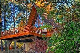 a frame style house cabin and cabin fever