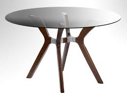 Glass Circular Dining Table Table With Glass Top Design Decoration