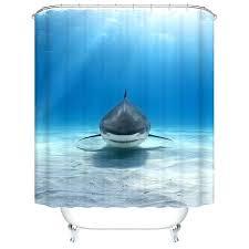giraffe shark shower curtain new high quality bathroom s waterproof lonely