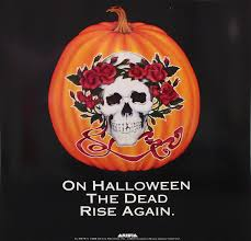 grateful dead halloween promotional poster limited runs