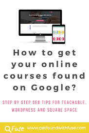 online seo class how to get your online courses found on new students