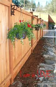 Backyard Ideas For Privacy Wood Fence Ideas For Backyard This Backyard Fence Is Made Of