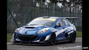 mazda 3 sedan mazda 3 sedan 20b racecar 2013 test zolder youtube