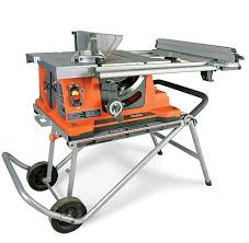 ridgid table saw miter gauge ts2400 1 portable tablesaw review fine homebuilding