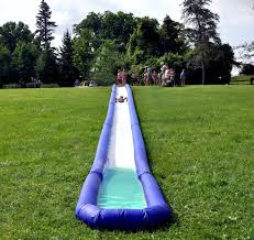 rave turbo chute water slide backyard hill package altrec com