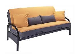 Metal Framed Sofa Beds Basic Black Metal Frame With Futon Mattress Size By Coaster