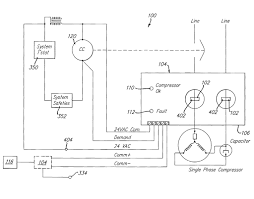 central air conditioner wiring diagram for 3 phase jpg beauteous