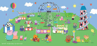 peppa pig wallpapers group 67 peppa pig murals fantasy art trading s online store