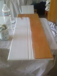 reloved rubbish pure white chalk paintA kitchen cabinets here the chalk paintA action need prime sand strip existing finish just paint away