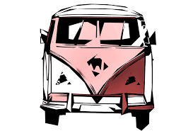 volkswagen hippie van clipart vw retro bus free stock photo public domain pictures