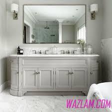 Bathroom Sink  Unique Vessel Sinks Calacatta Marble Dual Bathroom - Bathroom vanities with tops double sink