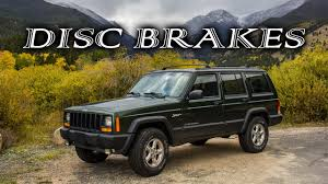 jeep wagoneer 1995 jeep disk brake conversion youtube