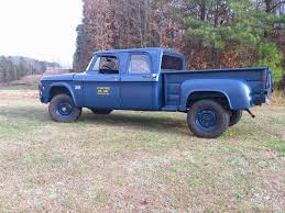 icon 4x4 d200 usaf 1969 dodge w 200 3 4 ton crew cab 4x4 pickup powered by a 225
