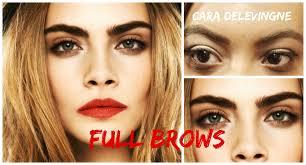How To Do Eyebrow How To Do Cara Eyebrows U2013 World Novelties Makeup 2017