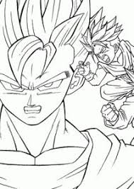 printable dragon ball z coloring pages renders dragon ball z by elnenecool d4a5v6b dragon ball z