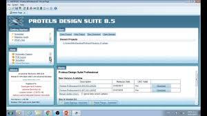 proteus design suite 8 5 circuit design software youtube